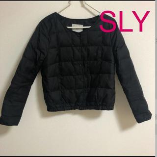 SLY - スライ ダウンジャケット S
