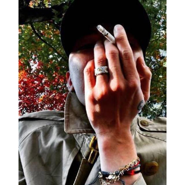 PEACEMINUSONE(ピースマイナスワン)のpeaceminusone デイジーリング G-DRAGON着用 メンズのアクセサリー(リング(指輪))の商品写真