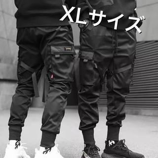 【大人気!】ストリート ミリタリー カーゴパンツ XLサイズ(ワークパンツ/カーゴパンツ)