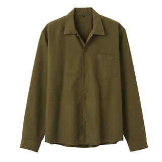 ムジルシリョウヒン(MUJI (無印良品))の無印良品   新疆綿オックススクエアカットシャツ (シャツ)