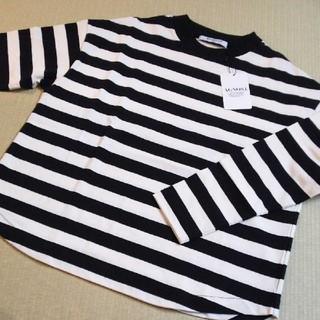 アグノスト(AGNOST)の新品♡ アグノスト ボーダーロンT(Tシャツ(長袖/七分))