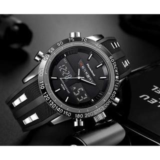 男性腕時計 トップブランドの高級男性 腕時計 ラバー LED デジタルクオーツ