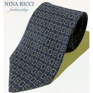 ニナリッチ(NINA RICCI)の124 美品【NINA RICCI】ニナリッチ ロゴポイント ネクタイ(ネクタイ)