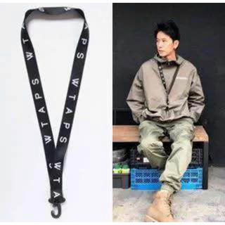 W)taps - wtaps 18ss neck holder strap 黒