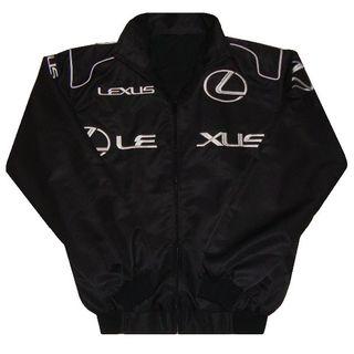 【送料無料】LEXUS レクサス 春秋ジャケット・ブルゾン 黒 XLサイズ(ブルゾン)