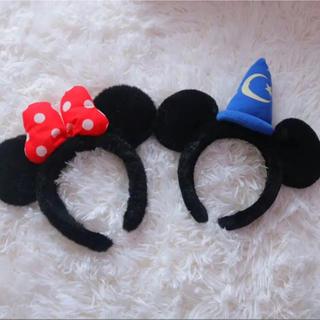 Disney - ミッキー&ミニー カチューシャ