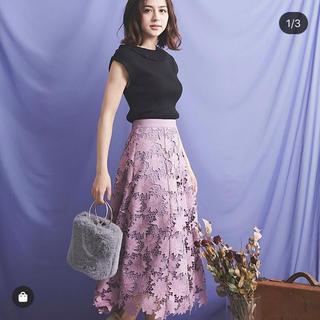 Noela - フラワー刺繍スカート