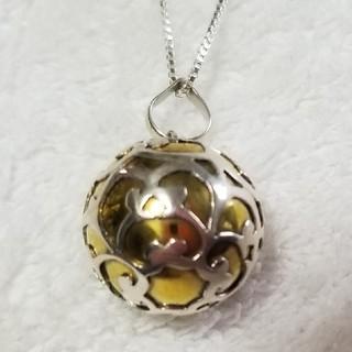 ガムランボール(ハート)  純銀 ペンダント 新品