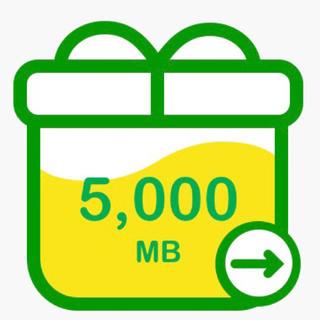 mineo パケット ギフト 5GB