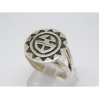 15号 ホピ シルバーリング インディアンジュエリー(リング(指輪))
