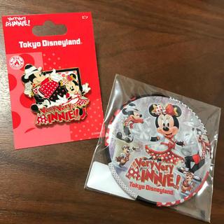 Disney - ディズニーランド ベリーベリーミニー 缶バッジ ピンバッジ