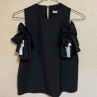 スタイルナンダ(STYLENANDA)の袖リボン付きトップス(カットソー(半袖/袖なし))