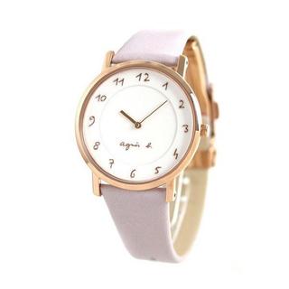 アニエスベー(agnes b.)のアニエスベー 時計 マルチェロ 30周年 agnes b. ラベンダー (腕時計)