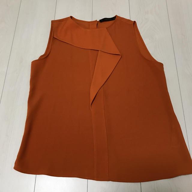ZARA(ザラ)の試着のみ!ZARA ノースリーブブラウス レディースのトップス(シャツ/ブラウス(半袖/袖なし))の商品写真