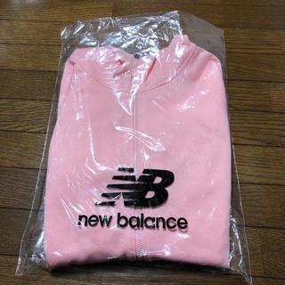 ニューバランス(New Balance)のニューバランス 裏起毛パーカー ピンク S ジム 運動 ウェア(パーカー)