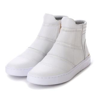 マドラス(madras)のJADE ジェイド ブーツ JD503 (ホワイト)25.5cm 新品(ブーツ)