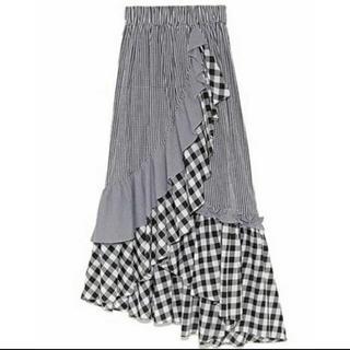 snidel - snidel イレヘムフリルギャザースカート