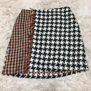 チェスティ(Chesty)のチェスティ 今期ツイードスカート サイズ1(ミニスカート)