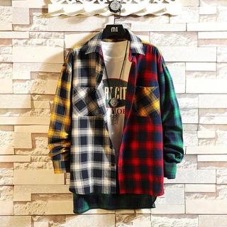 原宿系ファッション♡カラフルシャツ 2020トレンド     mpg