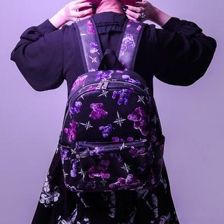 ミルクボーイ(MILKBOY)のTRAVAS TOKYO 総柄 レザーバックパック 新品 リュック(バッグパック/リュック)