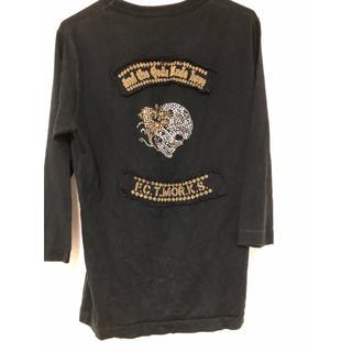 フランシストモークス(FranCisT_MOR.K.S.)のフランシストモークススワロフスキーロンT(Tシャツ/カットソー(七分/長袖))