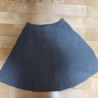 レプシィム(LEPSIM)のレプシム 大人可愛いグレー スカート L(ひざ丈スカート)