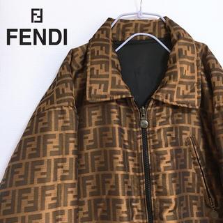 フェンディ(FENDI)の【レア】ヴィンテージ FENDI / フェンディ ズッカ柄 ジャケット コート(ブルゾン)
