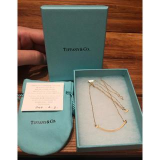 Tiffany & Co. - Tiffany & Co. Tスマイルネックレス
