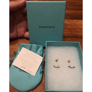 Tiffany & Co. - Tiffany & Co. Tスマイル ピアス 2月末まで出品中