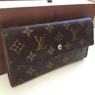 LOUIS VUITTON - 美品 正規品ルイヴィトン三つ折り長財布