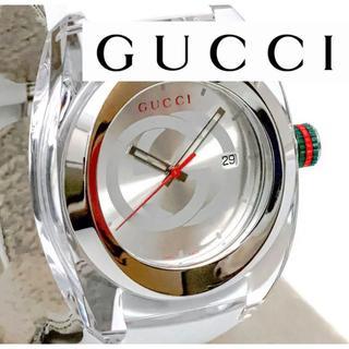 ★未使用品★ グッチ クオーツ メンズ腕時計 ★ かめちのお店