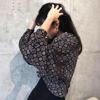 アリシアスタン(ALEXIA STAM)のjuemi mosque shirt モスクシャツ(シャツ/ブラウス(長袖/七分))
