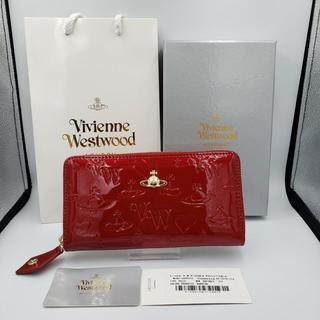 Vivienne Westwood - 即購入OK‼︎大人気新品 ヴィヴィアンウエストウッド 長財布エナメル レッド