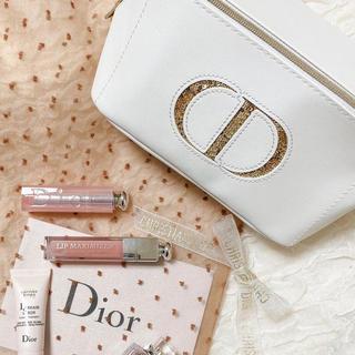 Dior - Dior ノベルティー ポーチ (ホワイト)