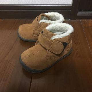 ムジルシリョウヒン(MUJI (無印良品))の無印 ムートンブーツ BABY用 0〜1歳児(ブーツ)