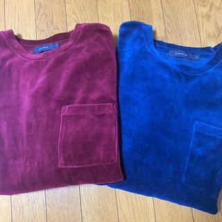 レイジブルー(RAGEBLUE)のRAGE BLUEベロアトップス セット 単品可(Tシャツ/カットソー(七分/長袖))