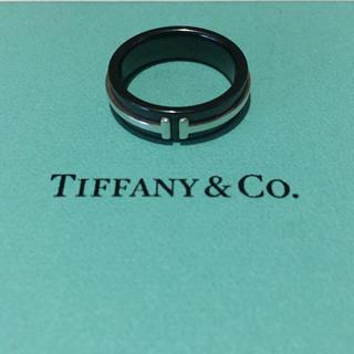 Tiffany & Co. - ティファニー  Tコレクション TWO リング