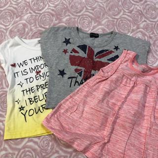 女の子 キッズTシャツ 110