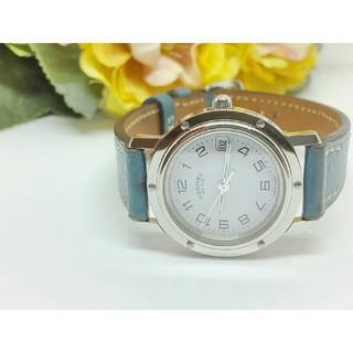 Hermes - 保証書付 美品 エルメス CL4.210 クリッパー  箱有 レディース腕時計