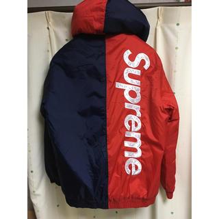 Supreme - 15ss  SUPREME 2-Tone Hooded Sideline JKT