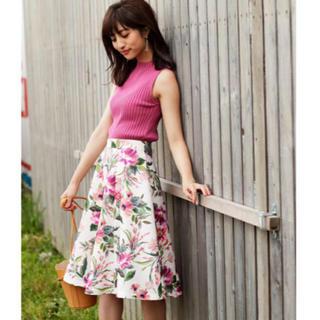 Rirandture - 美品♡リランドチュール♡オータムボタニカルフラワーフレアスカート