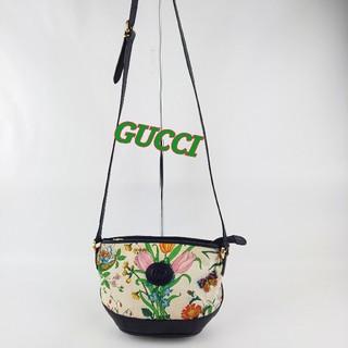 Gucci - オールドグッチ フローラ ビンテージショルダーバッグ ポシェット