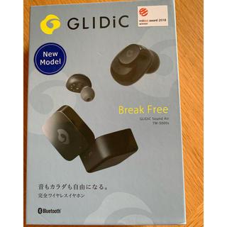 ソフトバンク(Softbank)のワイヤレスイヤホンGLIDiC Tw-5000s ブラック(ヘッドフォン/イヤフォン)