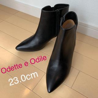 Odette e Odile - Odette e Odile  ショートブーツ 23cm