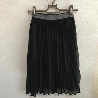 GU - 【新品 未使用】GU キッズ プリーツスカート 140 黒