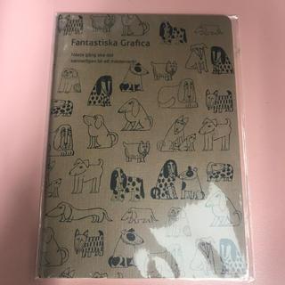 リサラーソン(Lisa Larson)のリサラーソン  A5中綴じノート2冊(ノート/メモ帳/ふせん)