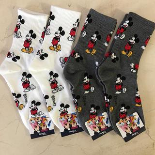 Disney - ミッキーマウスソックス4足セット