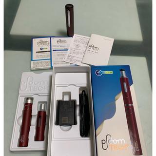 プルームテック(PloomTECH)のPloom tech+ プルームテックプラス スターターキット 別売のキャップ付(タバコグッズ)