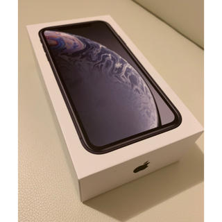 iPhone - 新品 iPhoneXR 128GB SIMフリー  ブラック