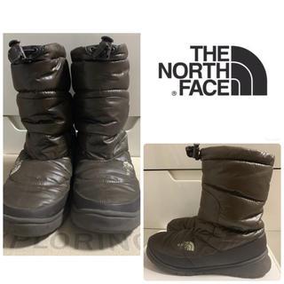 THE NORTH FACE - ノースフェイス ダークブラウン ヌプシ  ブーツ